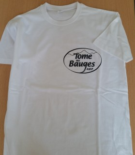 Le tee-shirt Tome des Bauges