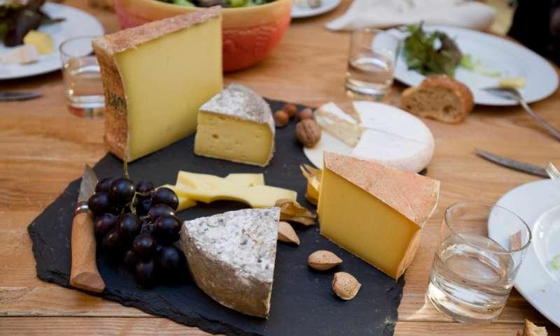 En plateau de fromage